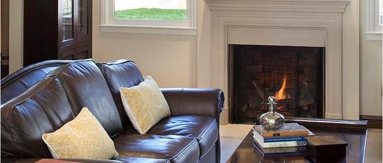 очистить кожаный диван