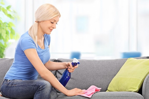 почистить мебель в домашних условиях