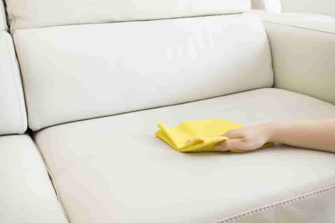очистить диван от шариковой ручки