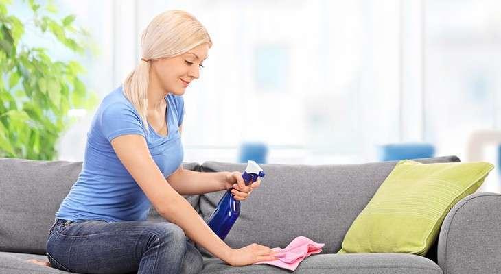 Вывести жирное пятно с дивана в домашних условиях 203