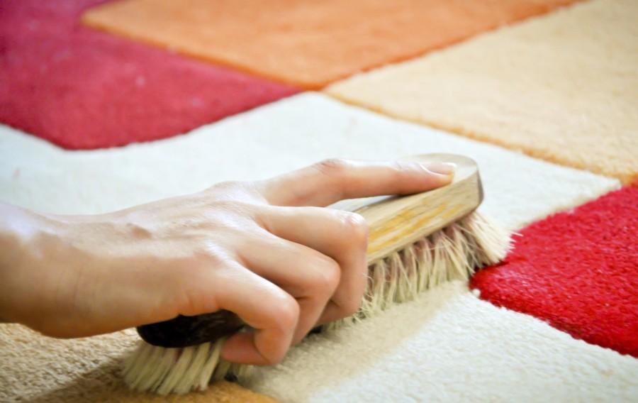 чистка шерстяного ковра от запаха