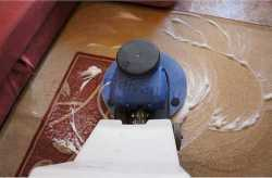 чистка ковров на дому - фото